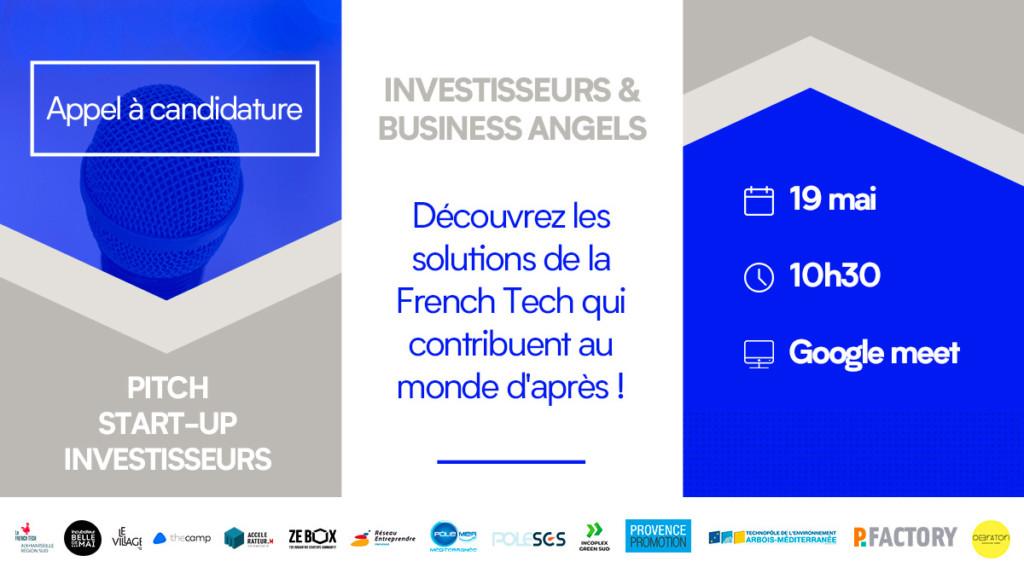 Découvrez les solutions de la FrenchTech qui contribuent au monde d'après !