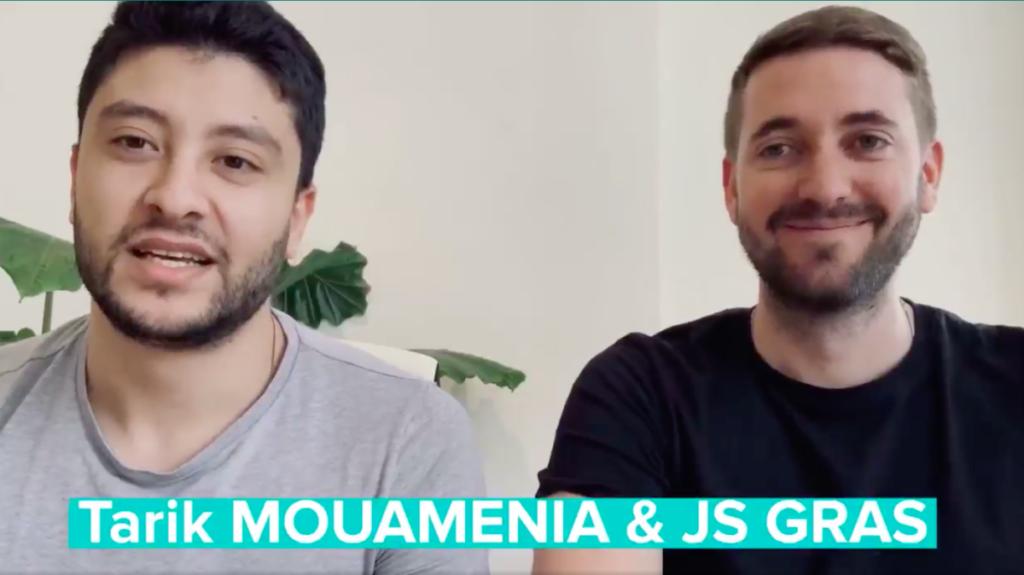 Tarik Mouamenia et Jean-Sébastien Gras - fondateurs d'HEALPHI , solutions de télémédecine