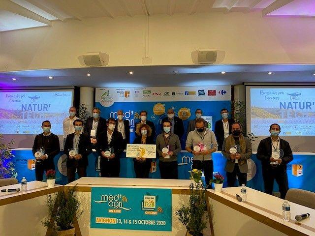 Lauréats NaturTech2020 réunis au Creativa Avignon